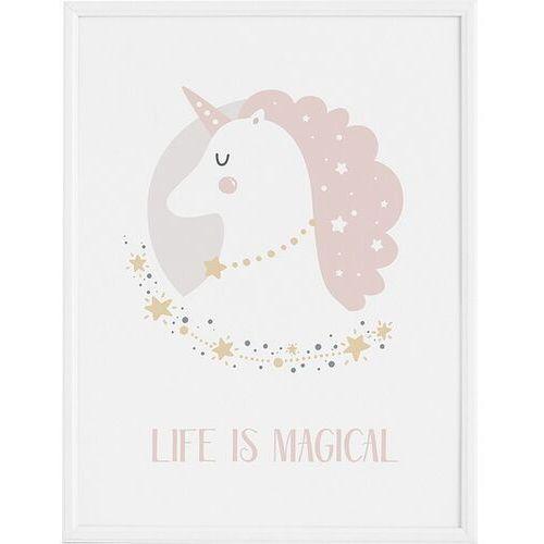 Plakaty, Plakat Lady Unicorn 40 x 50 cm
