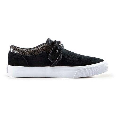 Damskie obuwie sportowe, buty SUPRA - Womens Cuba Black-White (BLK) rozmiar: 38