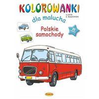 Książki dla dzieci, Polskie samochody. kolorowanki dla malucha (opr. miękka)