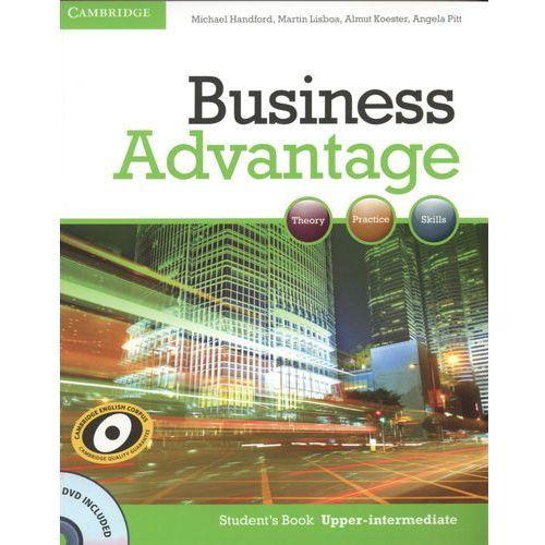 Książki do nauki języka, Business Advantage Upper Intermediate Student's Book (podręcznik) with DVD (opr. miękka)