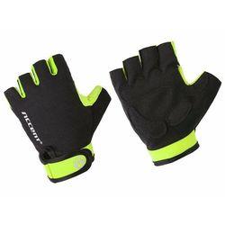 Rękawiczki Accent Bora czarno-żółte fluo XXL
