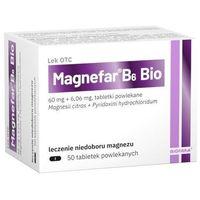 Witaminy i minerały, Magnefar B6 Bio x 50 tabletek
