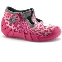 Obuwie domowe dziecięce, Kapcie dla dzieci Befado 110P304 Speedy - Różowy   Fuksja