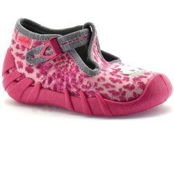 Kapcie dla dzieci Befado 110P304 Speedy - Różowy ||Fuksja