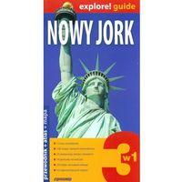 Przewodniki turystyczne, Nowy Jork 3w1 Przewodnik+atlas+mapa (opr. miękka)
