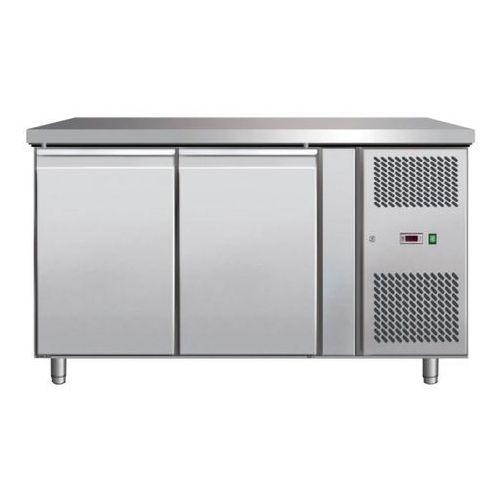 Stoły gastronomiczne, Stół chłodniczy 2-drzwiowy z agregatem bocznym SCHF - 2