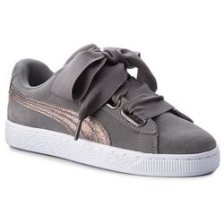 Sneakersy PUMA - Suede Heart LunaLux Wn's 366114 01 Smoked Pearl