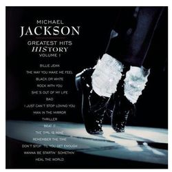 MICHAEL JACKSON - MICHAEL JACKSON GREATEST HITS HISTORY VOLUME I (CD)