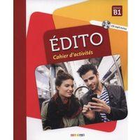 Książki do nauki języka, Edito B1 Cahier d'activites + CD - Heu Elodie, Perrard Marion, Opatski Sergue? (opr. miękka)