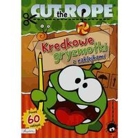 Książki dla dzieci, Cut the Rope. Kredkowe gryzmołki z naklejkami (opr. broszurowa)