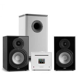 Numan Unison Reference 802 Edition, system stereo, wzmacniacz, UniSub, głośniki, czarny/biały
