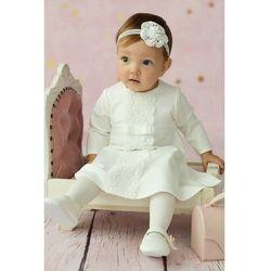 Sukienka niemowlęca na Chrzest 6K38AL Oferta ważna tylko do 2024-02-11