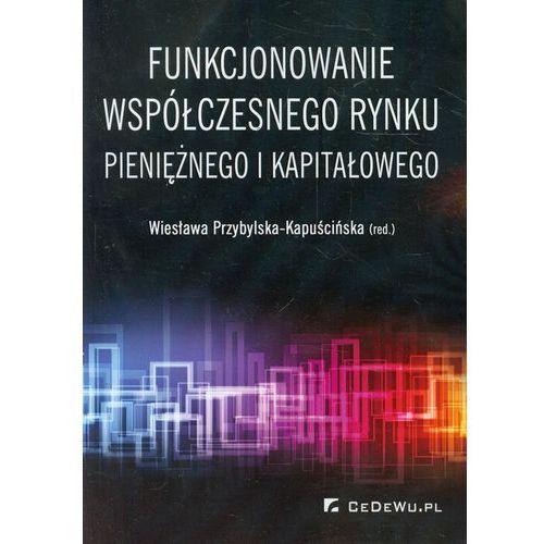 Biblioteka biznesu, Funkcjonowanie współczesnego rynku pieniężnego i kapitałowego (opr. miękka)