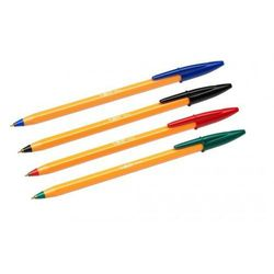 DŁUGOPIS BIC ORANGE 4 kolory długopisy