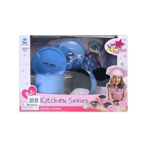 Kuchnie dla dzieci, Kuchnia - zestaw garnków 3Y31B6 Oferta ważna tylko do 2022-02-02