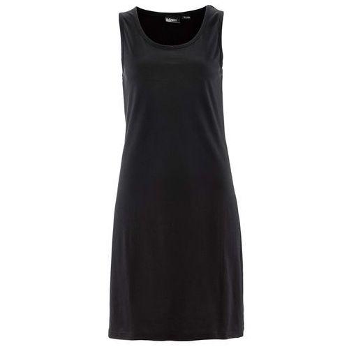 Suknie i sukienki, Sukienka shirtowa bonprix czarny