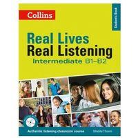 Książki do nauki języka, Real Lives Real Listening Intermediate. Podręcznik (opr. miękka)
