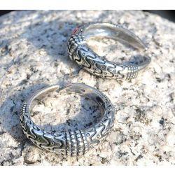 Pierścień wikingów, Orupgård Dania srebro Ag 925 SBR276
