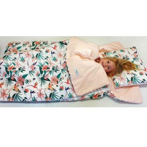 Śpiworki dla dzieci, Śpiworek przedszkolaka 100% bawełna koliberki + worek
