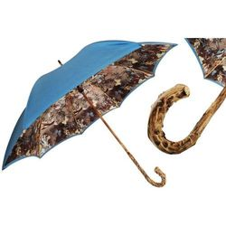 Parasol Pasotti Nature with Broom Wood Handle, podwójny materiał, 397 58637-17 G