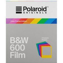 Polaroid Originals 600 B&W czarno-biały wkład do aparatu Polaroid z kolorowymi ramkami