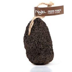 Naturalny pumeks wulkaniczny czarny z zawieszką