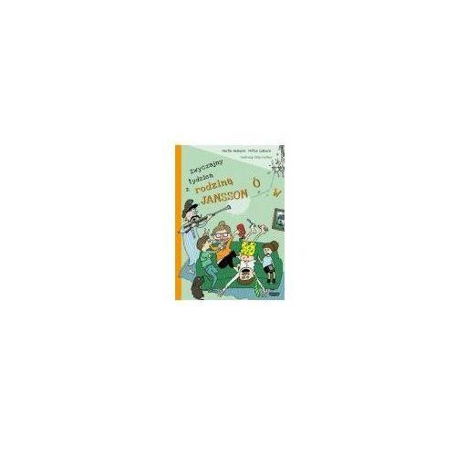 Książki dla dzieci, Zwyczajny tydzień z rodziną Janssonów. Darmowy odbiór w niemal 100 księgarniach! (opr. twarda)