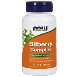 Bilberry Complex 80mg 100 kaps.
