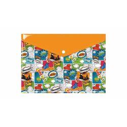 Teczka kopertowa koperta na zatrzask A4 PP komiks - A4 (29,7cm x 21cm) \ komiks