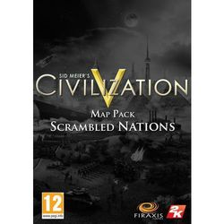 Civilization 5 Scrambled Nations (PC)