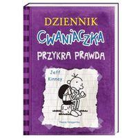 Książki dla młodzieży, Przykra prawda. dziennik cwaniaczka. tom 5 wyd. 2 - jeff kinney (opr. broszurowa)