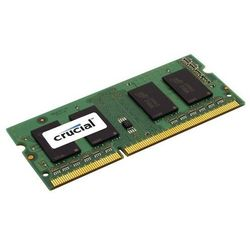 Crucial DDR3 8GB/1600 CL11 SODIMM Low Voltage