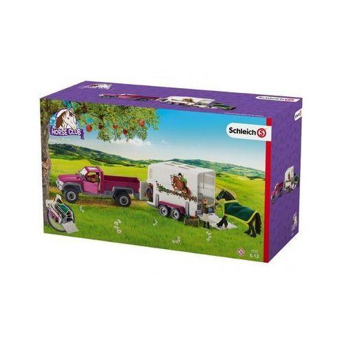 Figurki i postacie, Półciężarówka z koniem i przyczepą