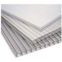 Pozostałe artykuły dachowe, Płyta poliwęglan komorowy Palram transparentna 0,98 x 2 m 16 mm 1,96 m2