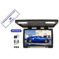 "NVOX RF2289 BL Monitor podwieszany podsufitowy LCD 22"" cale LED VGA IR FM 12/24V"