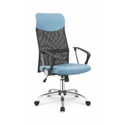 Fotel pracowniczy Halmar Vire 2 niebieski - gwarancja bezpiecznych zakupów - WYSYŁKA 24H