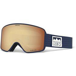 Giro Method Gogle, midnight alps/vivid copper/vivid infrared 2020 Gogle narciarskie