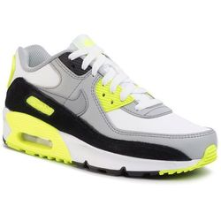 Buty NIKE - Air Max 90 Ltr (GS) CD6864 101 White/Particle Grey