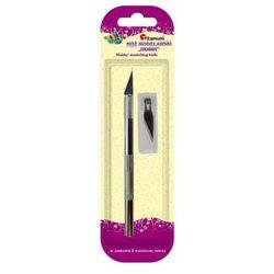 Nóż skalpel modelarski nożyk precyzyjny + 2 ostrza