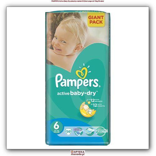 Pieluchy jednorazowe, Pieluchy PAMPERS Act. Baby-Dry 6 XL 3-6kg, 56szt - 4015400736424