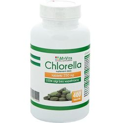 Chlorella 400 tabletek 250mg -PRONESS myvita