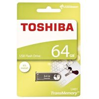 Flashdrive, Pendrive Toshiba 64GB U401 Silver (THN-U401S0640E4) Darmowy odbiór w 20 miastach!