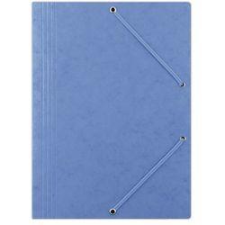 Teczka z gumką A4 DONAU preszpanowa - niebieska