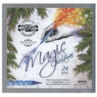 Kredki, Kredki Progresso Magic 24 kolory w metalowej kasetce