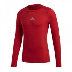Koszulka termoaktywna adidas AlphaSkin LS Tee Junior Czerwona CW7321