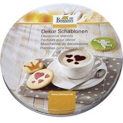 Zestawy szablonów do dekoracji kawy i ciast BIRKMANN 450226