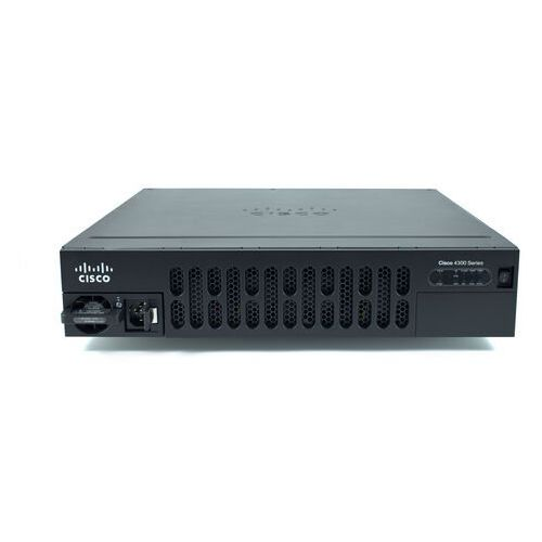 Routery i modemy ADSL, ISR4351-AXV/K9 Router Cisco ISR 4351 (3GE, 3NIM, 2SM, 4G FLASH, 4G DRAM, IPB, SEC, DATA, UC, PVDM4-64)