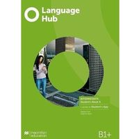 Książki do nauki języka, Language hub split ed. inter. b1+ sb a + app - jeremy day, gareth rees (opr. broszurowa)