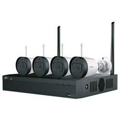 Imou zestaw monitoringu: 4 kamery bullet lite 2mpx + rejestrator z dyskiem 1tb + akcesoria