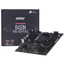 Płyta główna MSI B450M PRO-VDH PLUS DDR4 AM4 Mini ATX